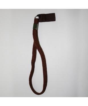 Ремешок для тростей «Плетеный Коричневый» А037К