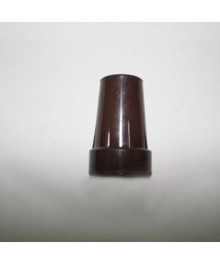 Наконечник резиновый с металлической вставкой «Коричневый» А0633