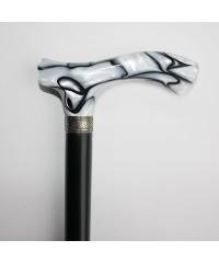 Трость «Черное и белое-2» B5731